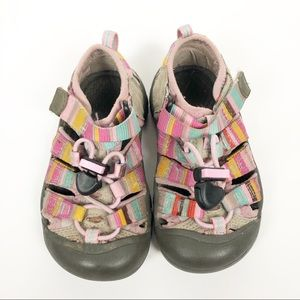 Keen Venice H2 pastel striped water sandals